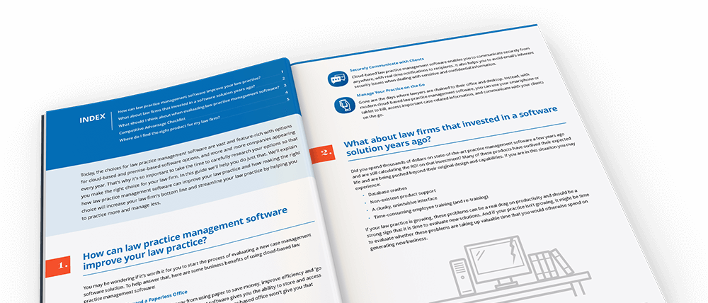 The Definitive Guide to Choosing Legal Practice Management Software ebook