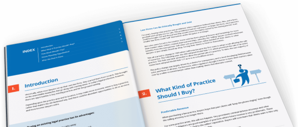The Ins and Outs of Buying a Law Firm Image