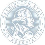 The Washington State Bar Association logo.